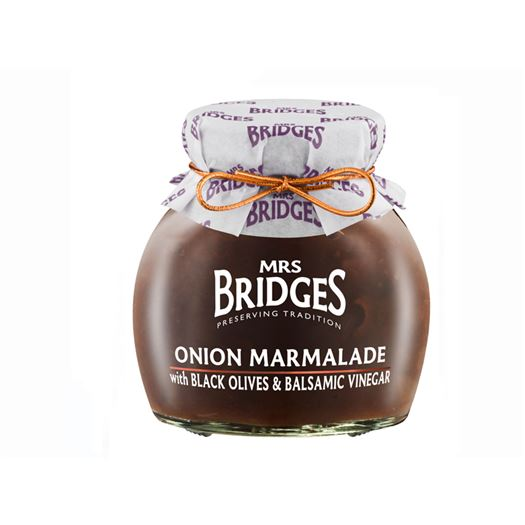 Mermelada de Cebolla con Aceitunas Negras y Vinagre Balsámico 285g MRS BRIDGES - BR106