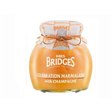 Celebration Champagne Mermelada 340g MRS BRIDGES