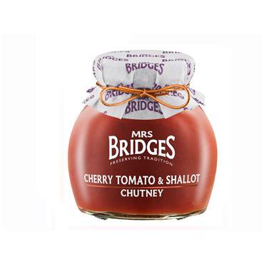 Chutney de Tomates Cherry y Chalotas 280g MRS BRIDGES