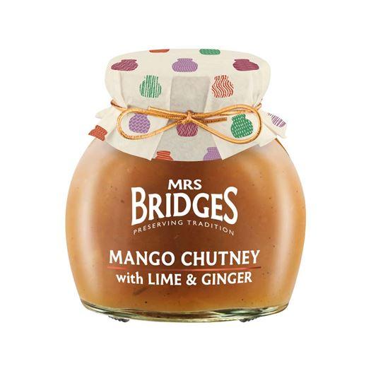 Chutney de Mango con Lima & Jengibre 280g MRS BRIDGES - BR206