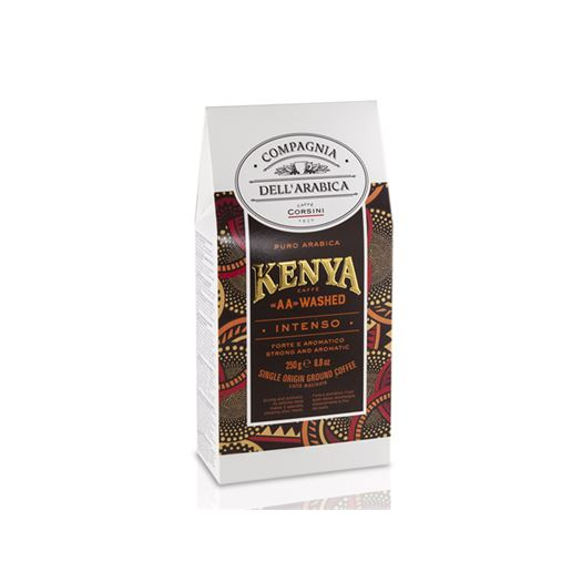 "Café Puro Arabica KENYA ""AA"" WASHED 250 g COMPAGNIA DELL´ARABICA - DKE002NEW"