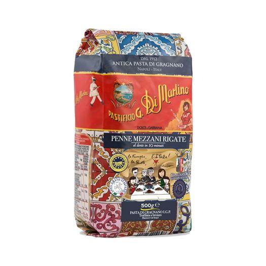 Pasta Italiana Penne Mezzani Rigate 500g DI MARTINO DOLCE & GABBANA - BM142D&G COPIAR