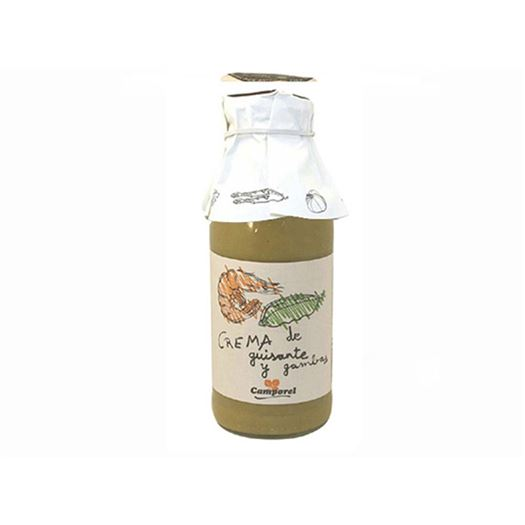 Crema de Guisantes con Gambas 75cl CAMPOREL - P197