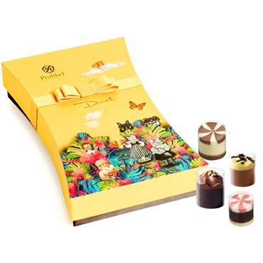 Desserts Giftbox Icônes 20 Bombones 295g PRALIBEL Belgian Chocolate