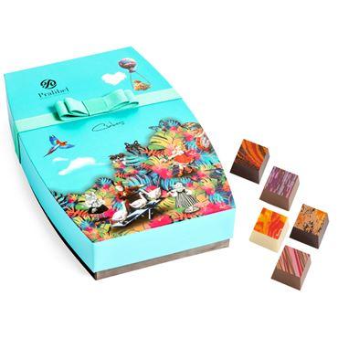 Cubes Giftbox Icônes 26 Bombones 240g PRALIBEL Belgian Chocolate
