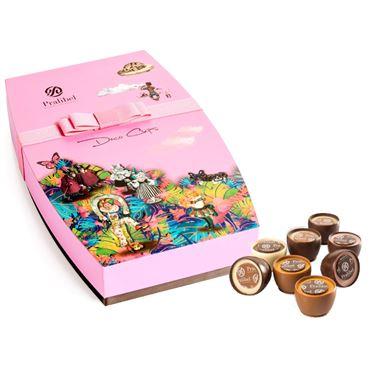 Deco Cups Giftbox Icônes 16 Bombones 235g PRALIBEL Belgian Chocolate