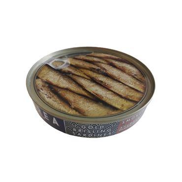 Gold Brisling Sardinas Sprats Ahumadas en Aceite de Oliva 120g  MAREA Gourmet