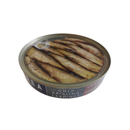 Gold Brisling Sardinas Sprats Ahumadas en Aceite de Oliva 120g  MAREA Gourmet - RI005