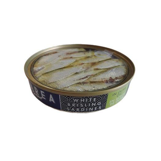 White Brisling Sardinas Sprats en Aceite de Oliva 120g  MAREA Gourmet - RI004