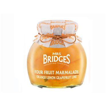Mermelada Cuatro Frutas 340g MRS BRIDGES