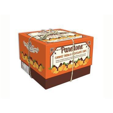 Panettone de Crema de Naranja y Pepitas de Chocolate 750g CHIOSTRO DI SARONNO