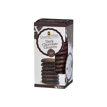 Galleta Chocolate Negro & Jengibre 150g GRANDMA WILD´S