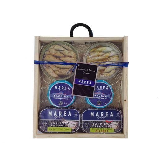 Set para Sardineros 6 latas MAREA GOURMET - RI090