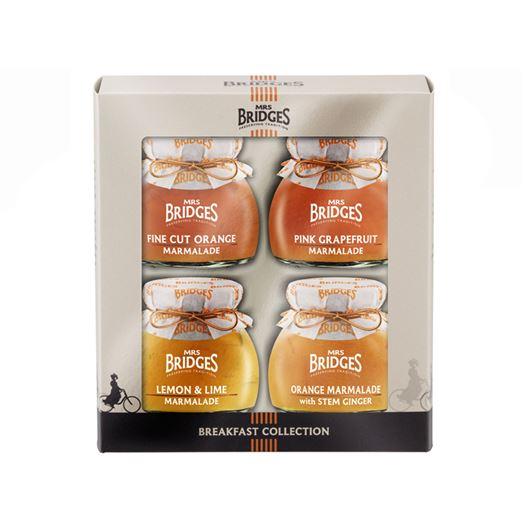 Selección de 4 Mermeladas Desayuno 4x113g MRS BRIDGES - MB3280