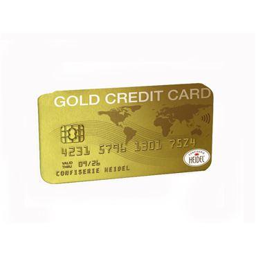 Tarjeta ORO Credit Card Mini tabletas Chocolate 30g HEIDEL