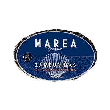 Zamburiñas en Salsa de Vieira 111g MAREA GOURMET