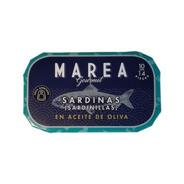 Sardinas (Sardinillas) en Aceite de Oliva 10/14 piezas 90g MAREA GOURMET