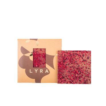 Chocolate con leche con Cerezas y Frambuesas 80g LYRA CHOCOLATE