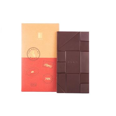 Chocolate negro Origen Peru 70% 90g LYRA CHOCOLATE