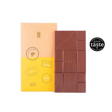 Chocolate con leche Origen Ecuador 50% 90g LYRA CHOCOLATE