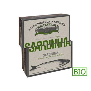 Sardinas en Aceite de Oliva Ecológico 120g LA GONDOLA