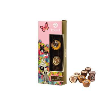 Deco Cups Reglette Icônes 8 Bombones 110g PRALIBEL Belgian Chocolate