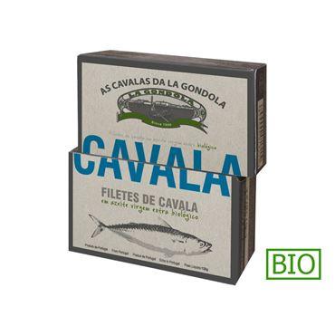 Filetes de Caballa en Aceite de Oliva Bio 120g LA GONDOLA