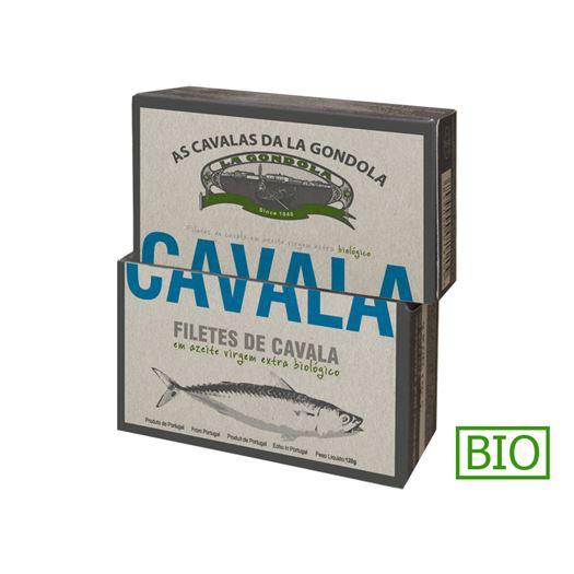 Filetes de Caballa en Aceite de Oliva Bio 120g LA GONDOLA - PP401