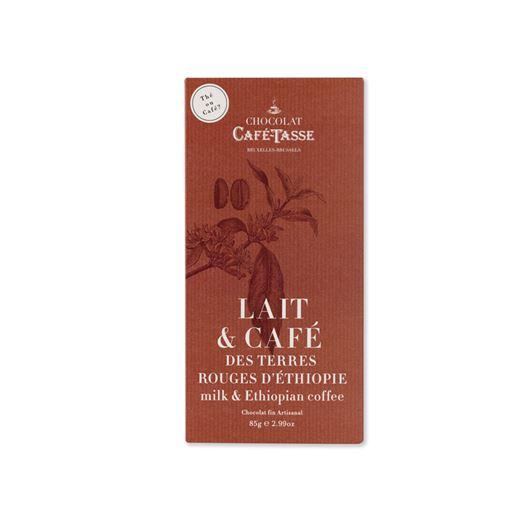 Chocolate con Leche & Café Etiopía 85g CAFE TASSE - T5173