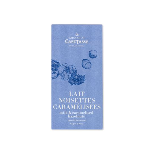 Chocolate con Leche y Avellanas Caramelizadas 85g CAFE TASSE - T5069