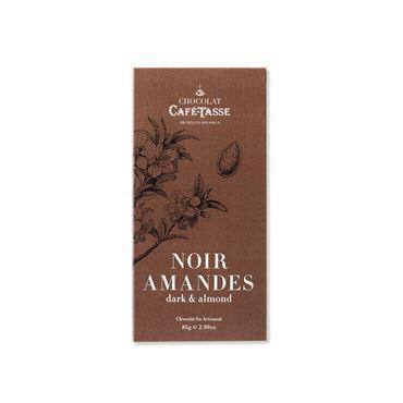 Chocolate Negro con Almendras 85g CAFE TASSE