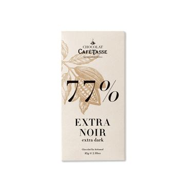 Chocolate Extra Negro 77% 85g CAFE TASSE