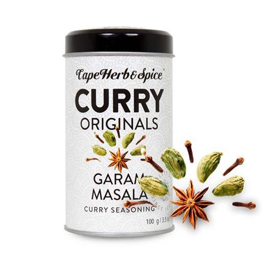 Curry Garam Masala 100g CAPE HERB & SPICE - RU007
