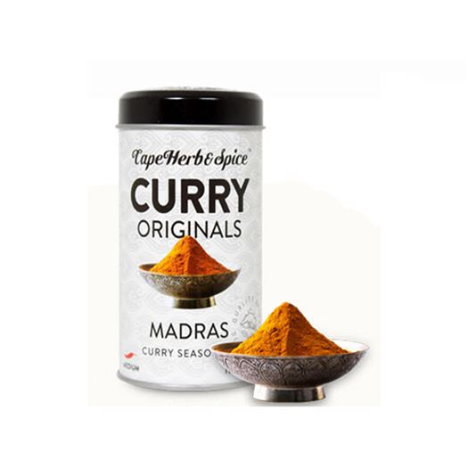 Curry Madrás 100g CAPE HERB & SPICE - RU008