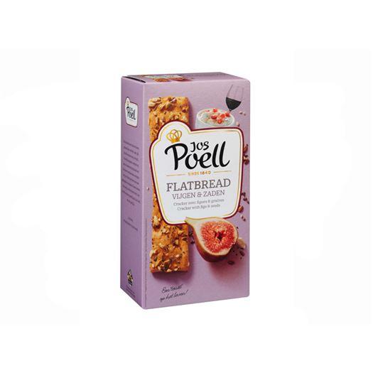 Cracker Flatbread con Higos y Semillas 100g JOS POELL - AJ319