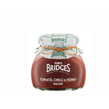 Salsa de Tomate, Chilli & Miel 205g MRS BRIDGES