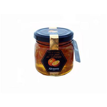 Miel de Naranjo con Piel de Naranja Confitada 250g ALEMANY