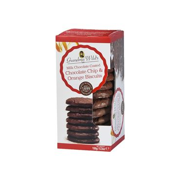 Galleta de Naranja & Chocolate 150g GRANDMA WILD´S