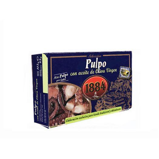 Pulpo con aceite de Oliva Virgen 115g 1884 - PT0912
