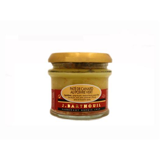 Paté de Pato a la Pimienta Verde 100g BARTHOUIL - TE170