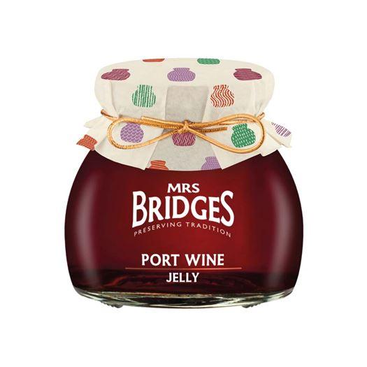 Port Wine Jelly 250g MRS BRIDGES - BR8720 NEW