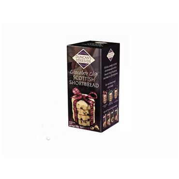 Chocolate Chip Scottish Shortbread 200g DUNCAN´S OF DEESIDE