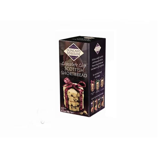 Chocolate Chip Scottish Shortbread 200g DUNCAN´S OF DEESIDE - D03