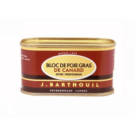 Bloc de Foie Gras de Pato con trozos 210g BARTHOUIL - FBP126