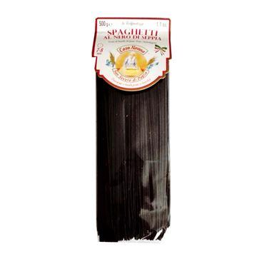 Spaghetti Pasta al Nero di Sepia 500g CARA NONNA