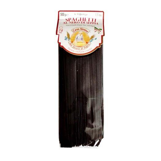 Spaghetti Pasta al Nero di Sepia 500g CARA NONNA - A025
