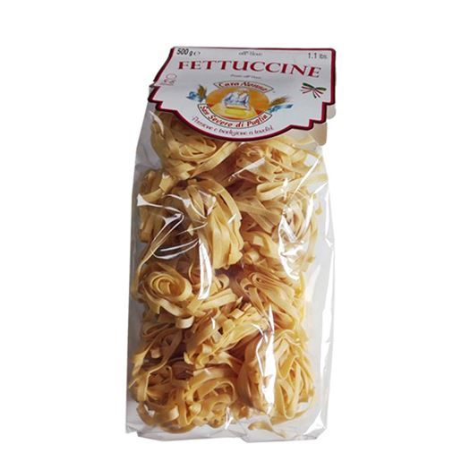 Pasta Fettuccine Al Huevo 500g CARA NONNA - A038