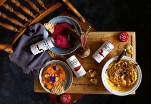 Receta Vegana Hummus y Chilli