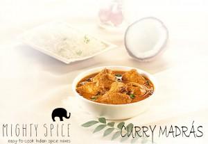 Recetas Mighty Spice. Curry de Madrás.